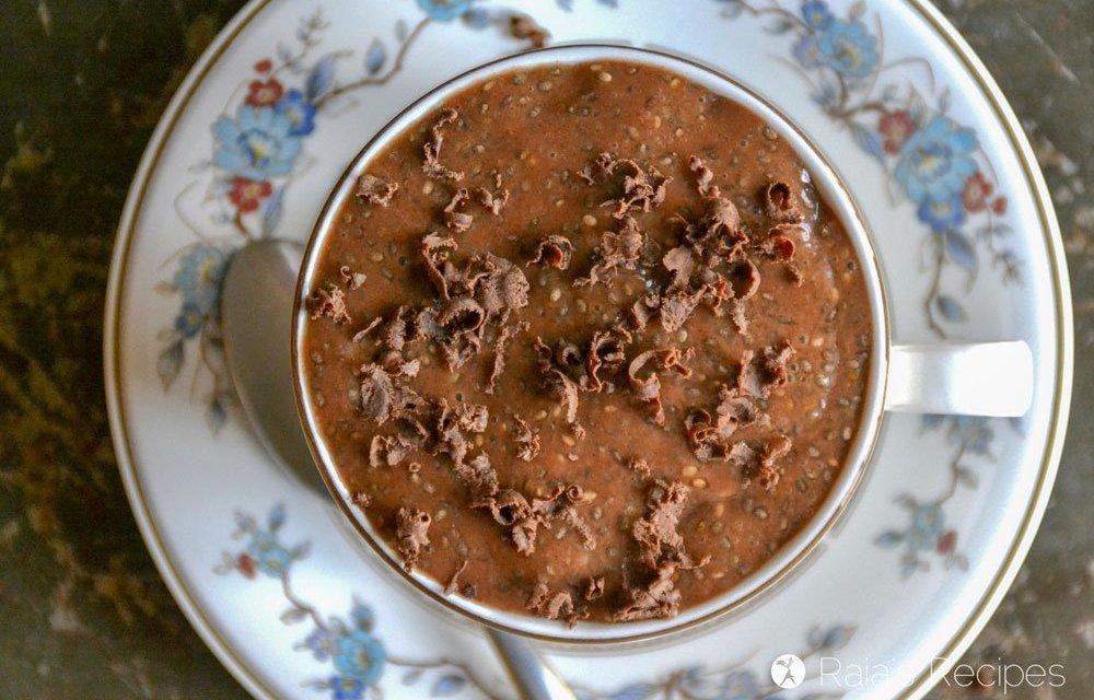 Easy Paleo Mocha Chia Pudding