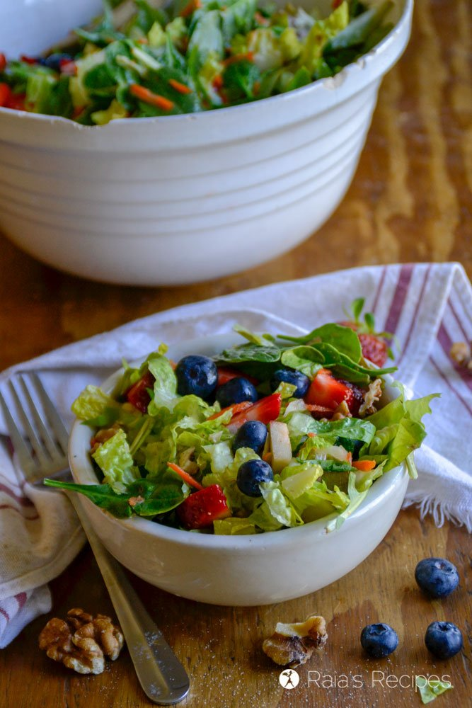 paleo Copy-Cat Chick-fil-A Market Fresh Salad 3