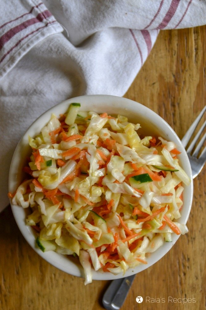 Quick & Simple Coleslaw profile top