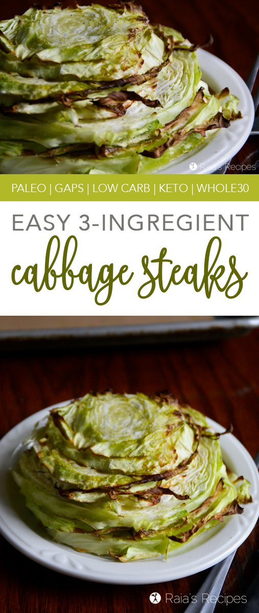 These3-Ingredient Cabbage Steaks are a perfect side dish for any meal. They're quick and easy, and don't require any special ingredients to make them delicious!