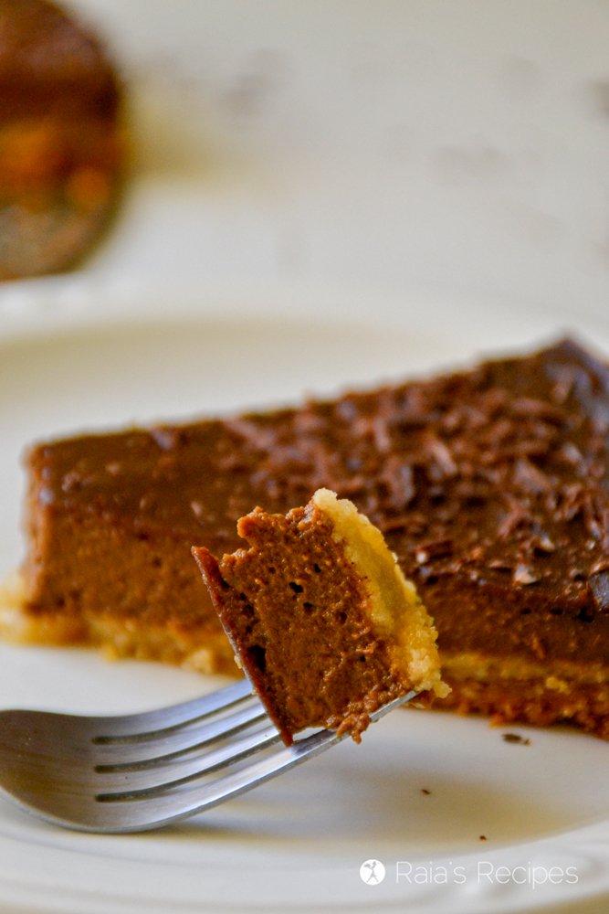 Chocolate Pumpkin Pie 12