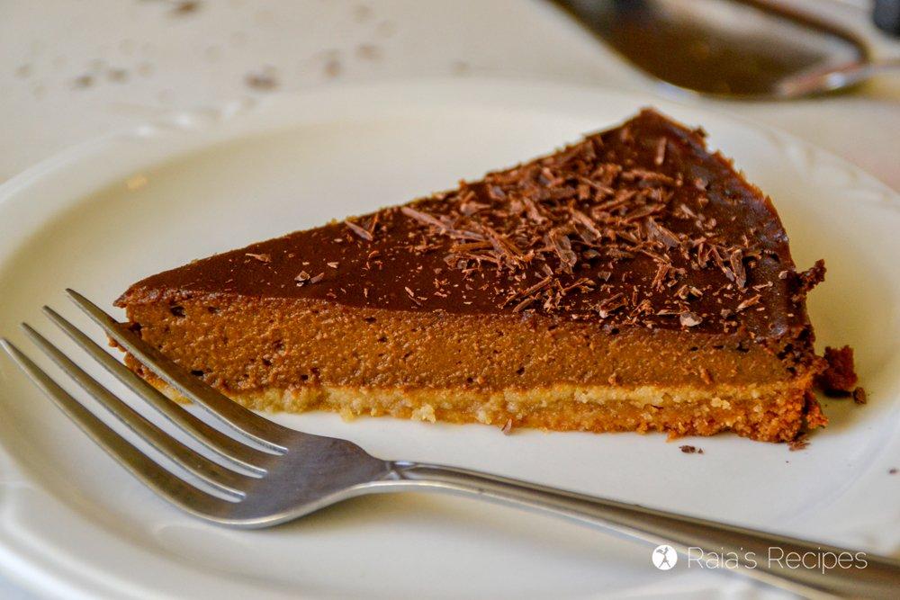 Chocolate Pumpkin Pie 8