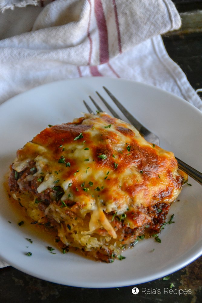 Spaghetti Squash Pizza Casserole 2