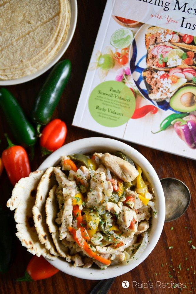 Chicken Fajitas in the Instant Pot 5