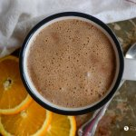 Almond Orange Hot Cocoa