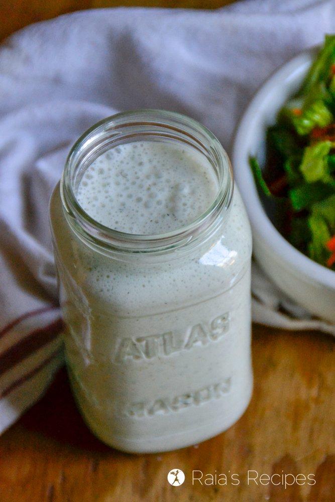 Probiotic Blender Ranch Dressing 5