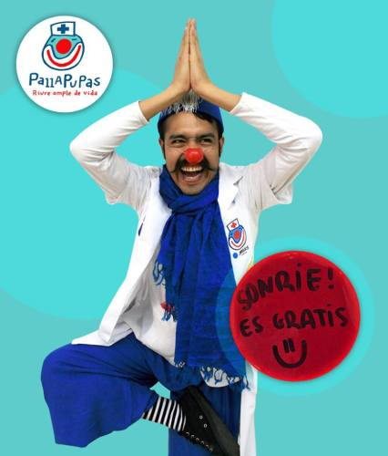 El enfermero Mascarillo, foto cortesía de Pallapupas.