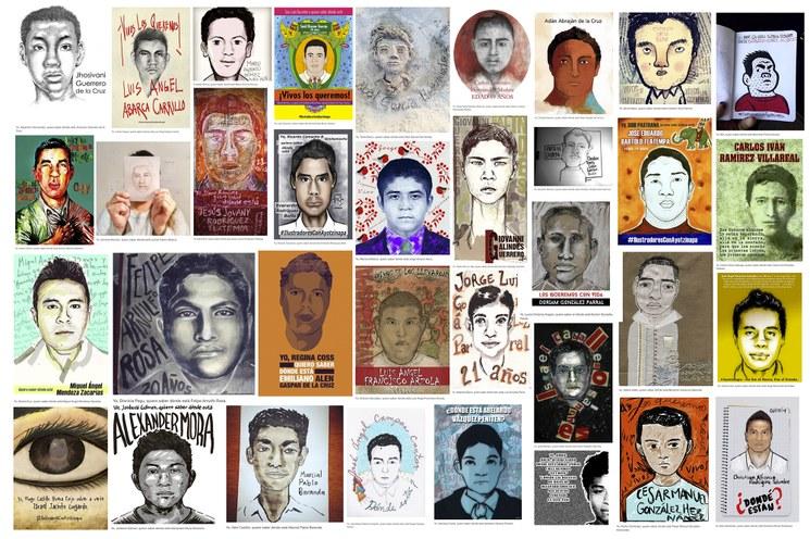 Mis hijos de Ayotzinapa, todos son nuestros hijos