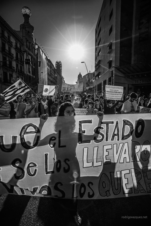 Por las calles de Barcelona. Foto: Rodrigo Vázquez