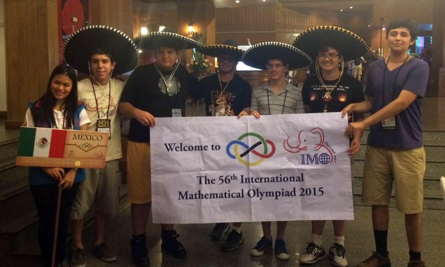 El equipo mexicano. Fotos: ommenlinea.org