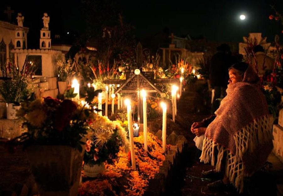 Cemeterio de San Gregorio Atlapulco. Foto: Luis Acosta/AFP