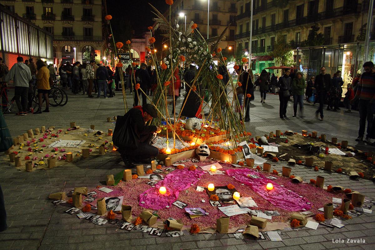 Altar Memorias. Foto: Lola Zavala