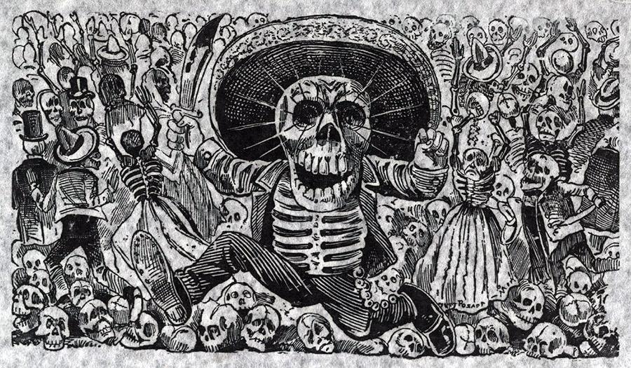 Grabado de José Guadalupe Posada