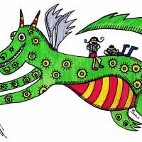 Sant Jordi, la princesa y el dragón