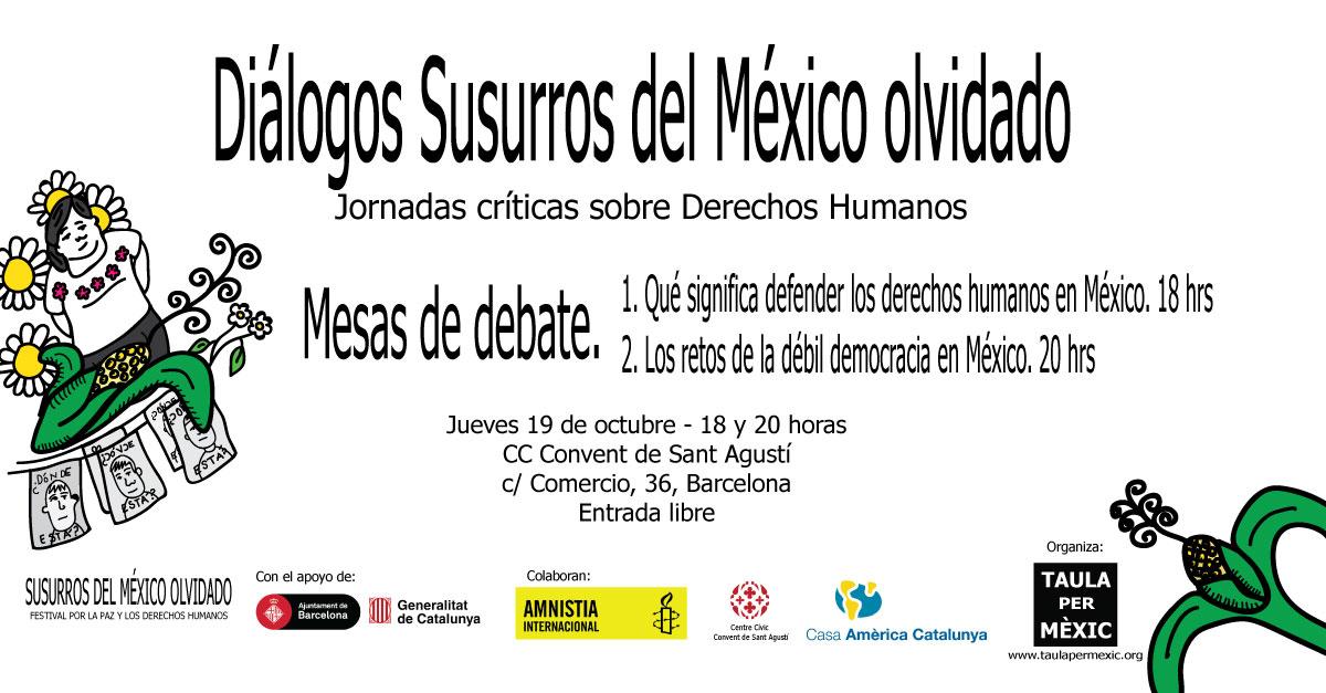 Festival Susurros: Mesas de debate
