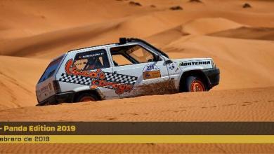 صورة عودة سباق السيارات پاندا بالصحراء المغربية