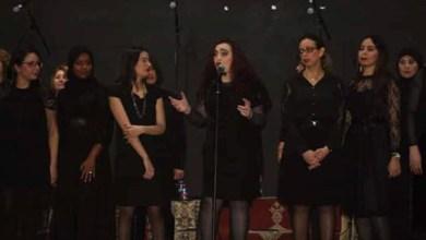 صورة الأوبرا بالمؤنث شعار اتخدته فرقة كورال Canto l opéra لإحياء حفل بمناسبة اليوم العالمي للمرأة