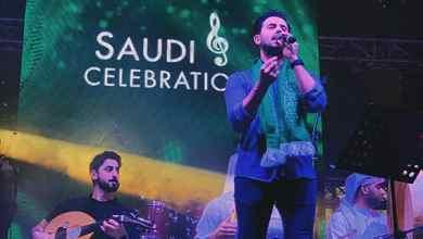 صورة فؤاد عبد الواحد يحتفل باليوم الوطني السعودي الـ89 في دبي