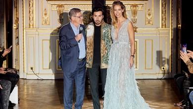 صورة نجوى كرم نوال الزغبي دينا المصرية ونهى نبيل يشاركن بإطلاق SKS Couture في باريس