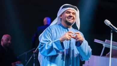 صورة حسين الجسمي نجم ختام حفلات ملتقى أبوظبي الأسري الثاني