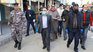 صورة وزير الثقافة يتفقد سير الحياة العامة في محافظة معان