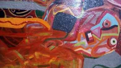 صورة الفنان التشكيلي هشام لواح يبدع لوحة فنية في زمن الكورونا .. عبد المجيد رشيدي