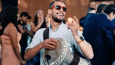 صورة مارين المصري يقدم أول حفلة رمضانية بالطبلة في البلكونة