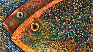 صورة الفنانة التشكيلية غيثة العلوي .. لوحاتي تحتفي بالحب والجمال