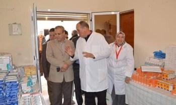مندوبية وزارة الصحة باقليم بولمان تكثف مجهوداتها وتستنفر أطرها الصحية لمواجهة فيروس كورونا المستجد.10