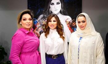إطلالة جديدة لشمس الأغنية العربية نجوى كرم في دبي3