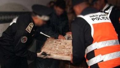 صورة إحباط محاولتين منفصلتين لتهريب 745 كيلوغراما من مخدر الشيرا بميناء طنجة المتوسط..