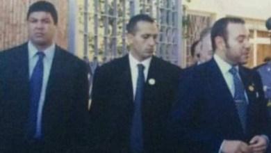 صورة وفاة خالد زوزو الحارس الشخصي للملك الحسن الثاني ومحمد السادس .