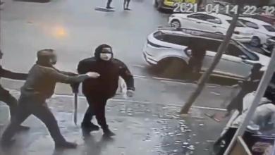 صورة توقيف شخصين بحوزتهما اسلحة بيضاء في محاولة اعتداء على محل بالنجمة بطنجة
