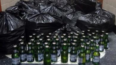صورة احالة شخصين يشتبه في تورطهما في قضية تتعلق بالحيازة و الترويج في الخمور بدون ترخيص