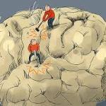 Cerebro moldeado