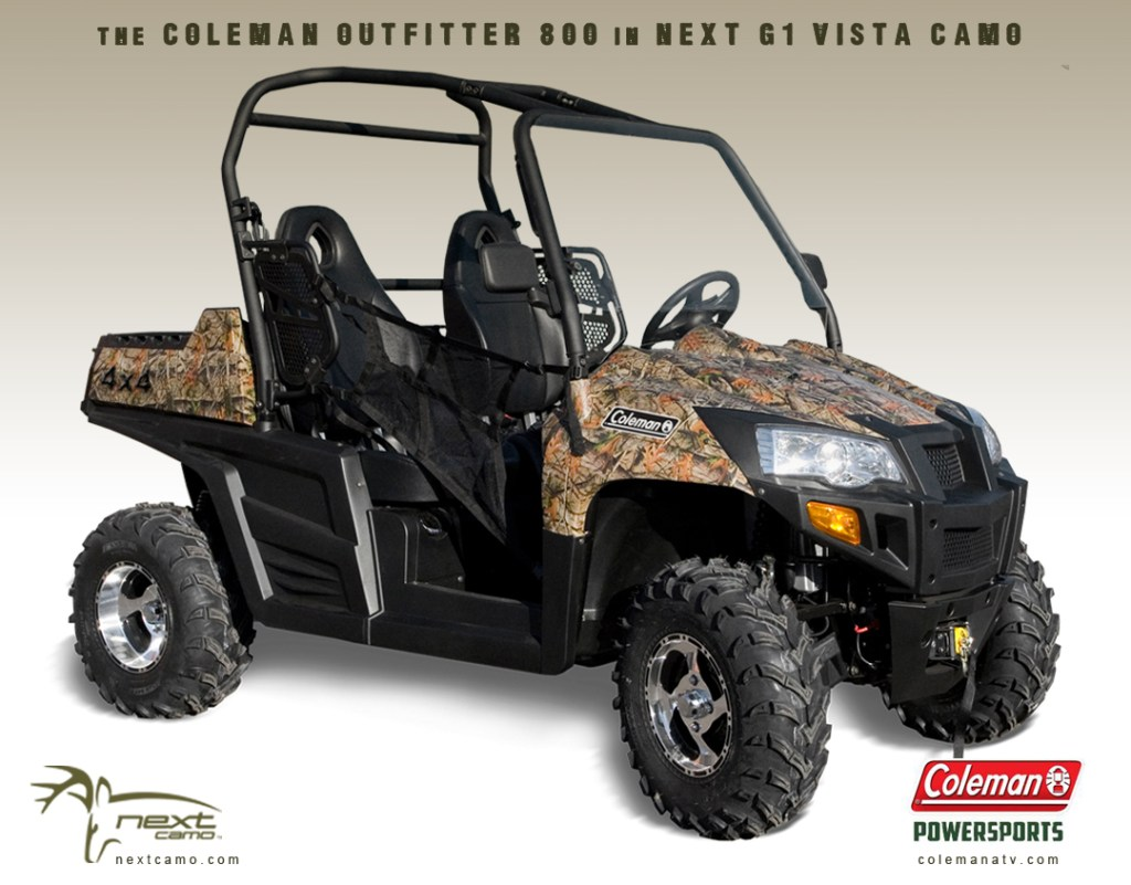 Coleman Powersports in Next G1 Vista Pattern Now Available