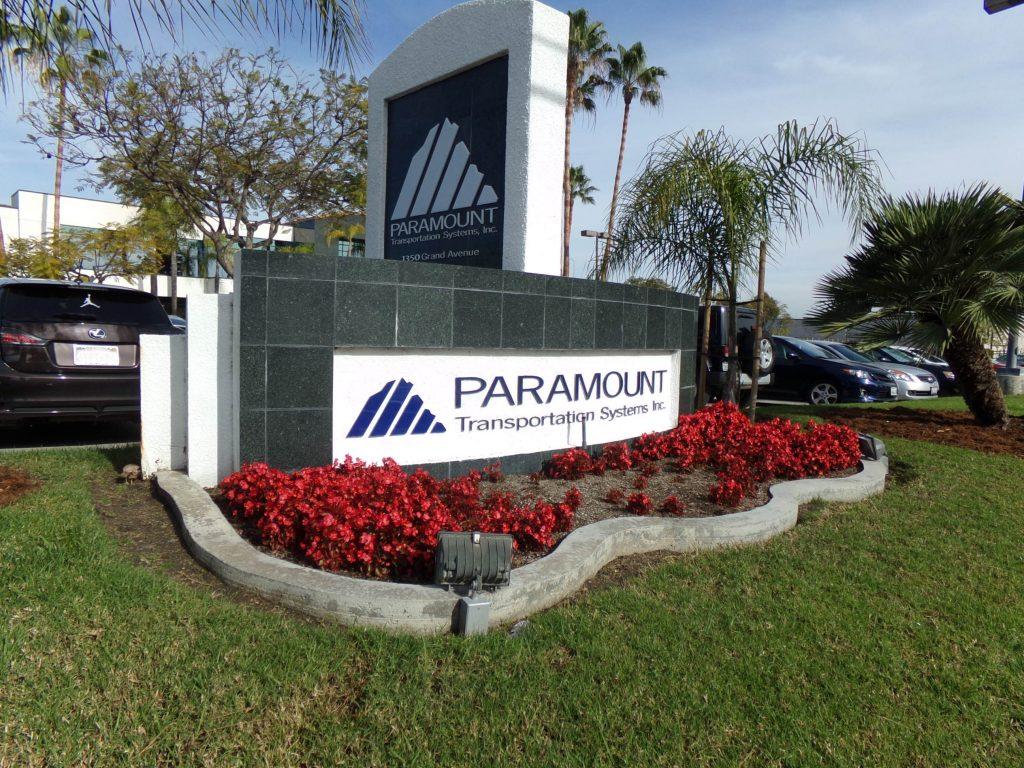 Paramount Transportation Monument