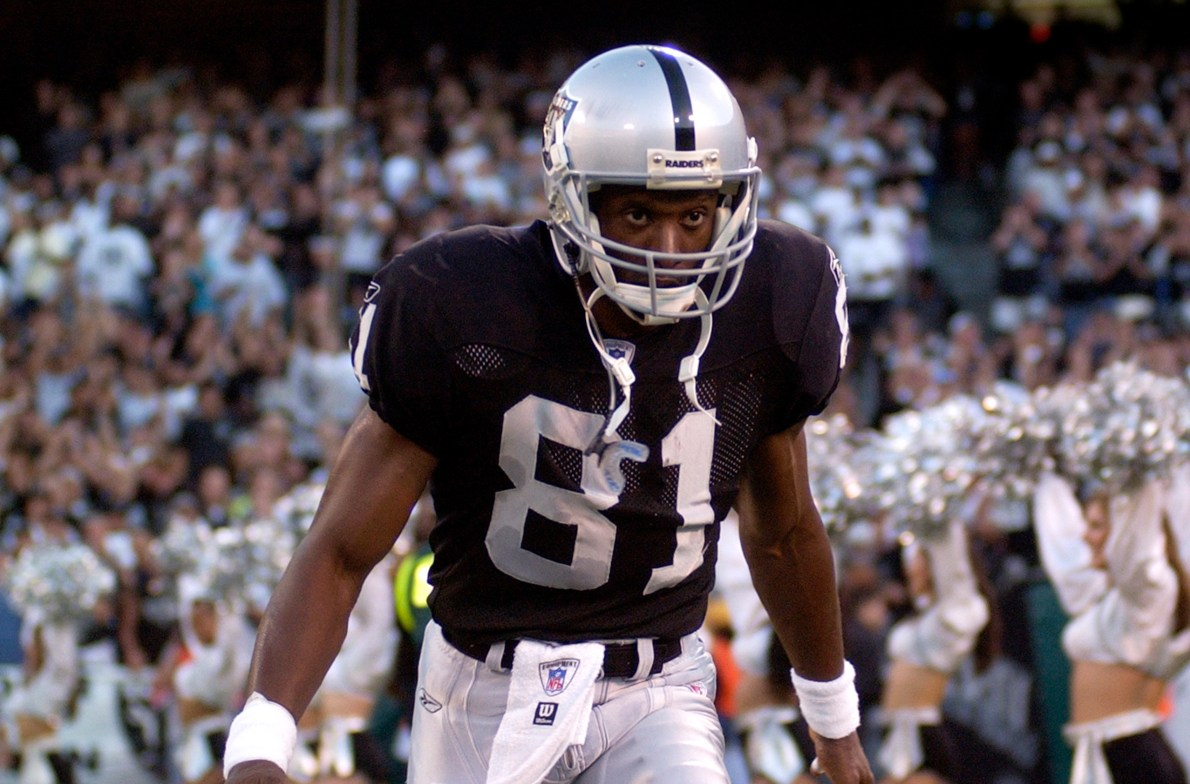 Oakland Coliseum memory includes Tim Brown setting an NFL record