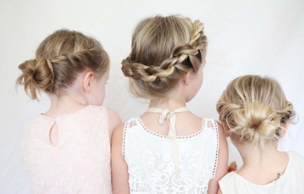 плетение косичек для девочек фото пошагово видео