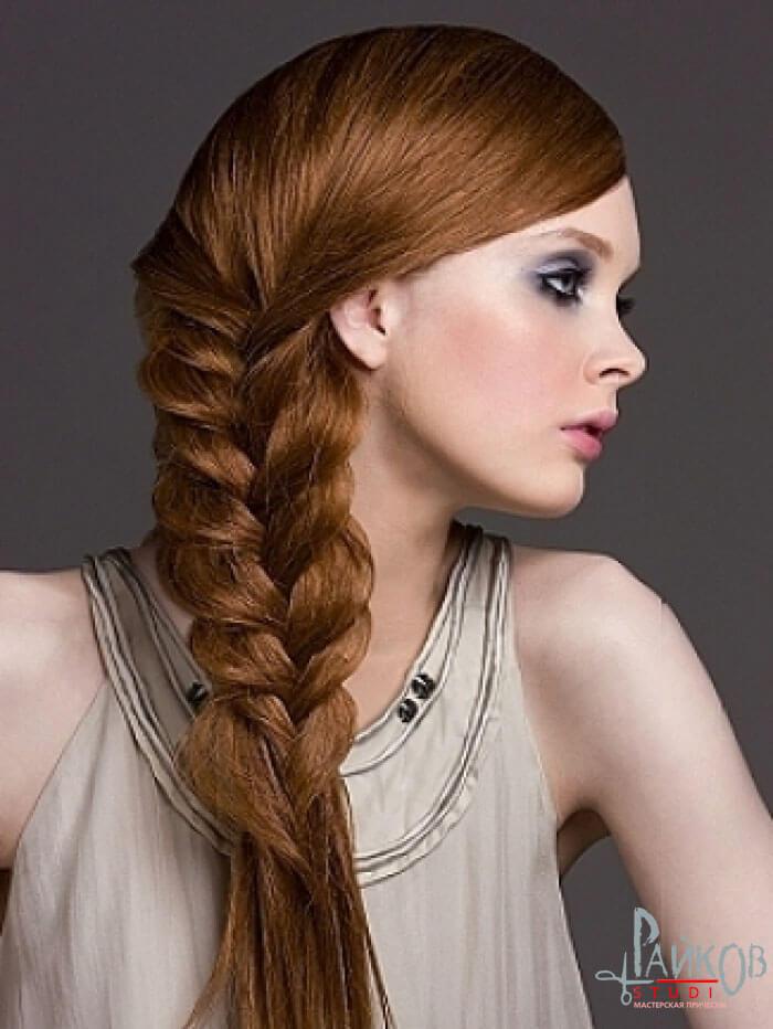 Косы для тяжелых волос