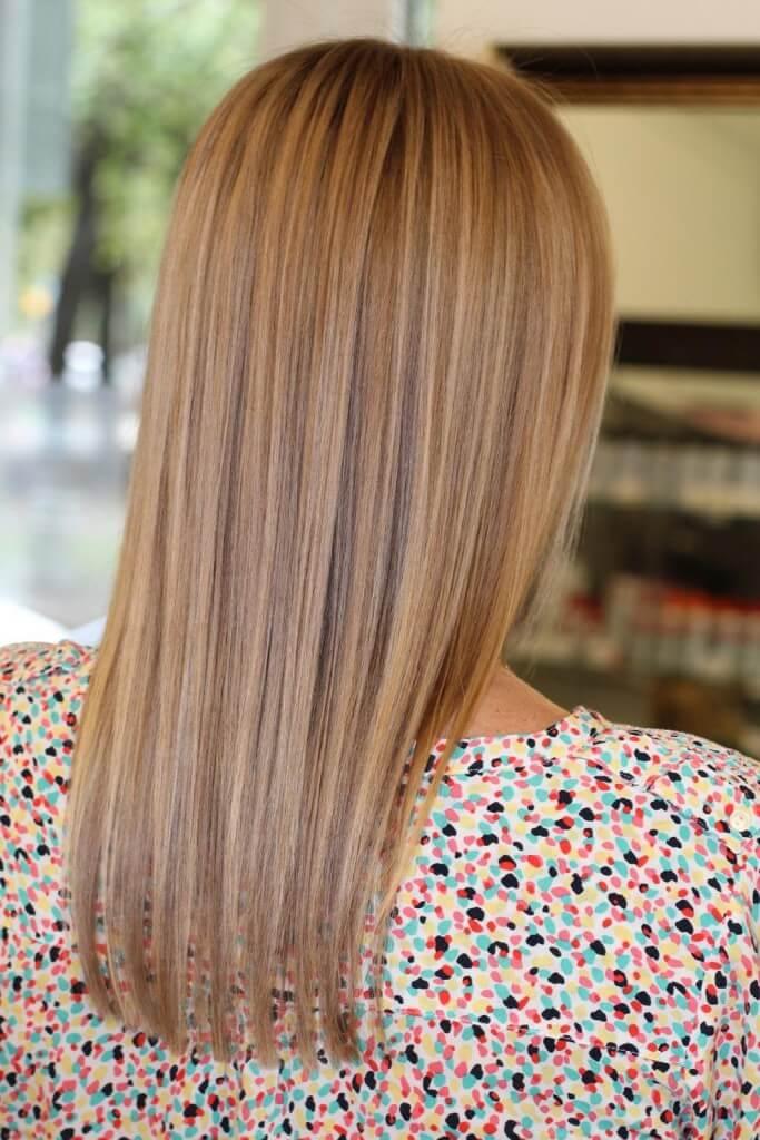 Модное окрашивание светлых волос актуальные техники
