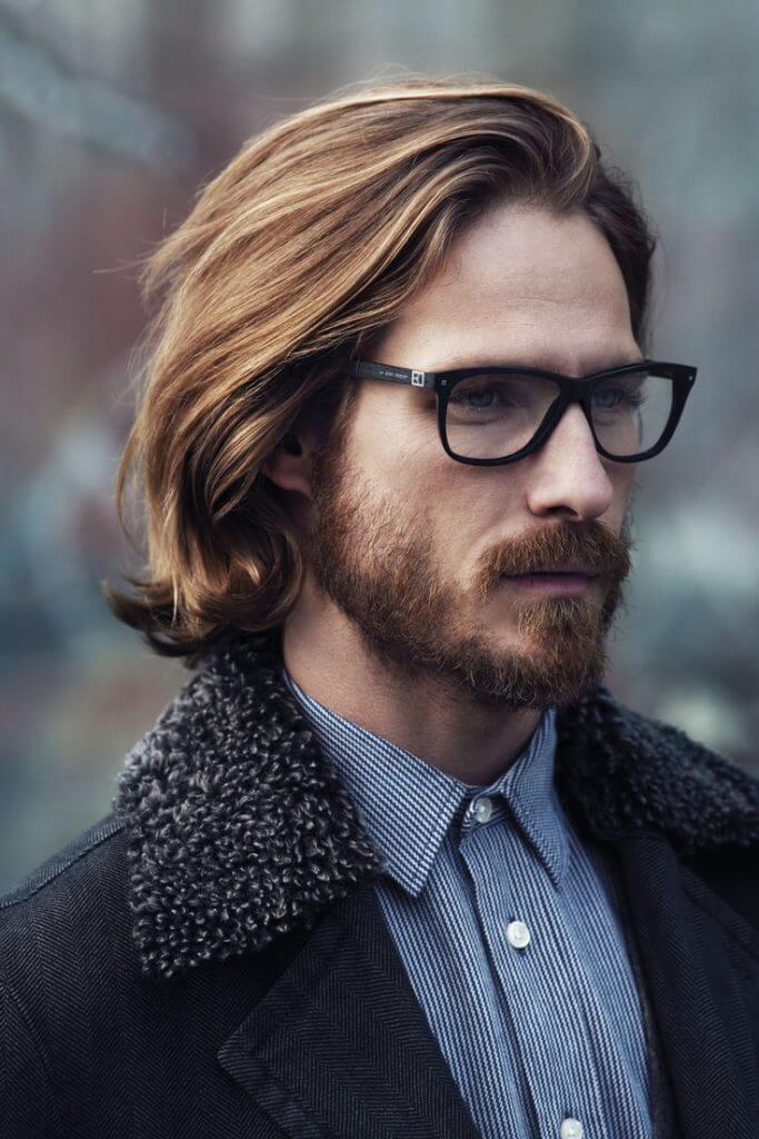 Мужские стрижки фото длинные волосы