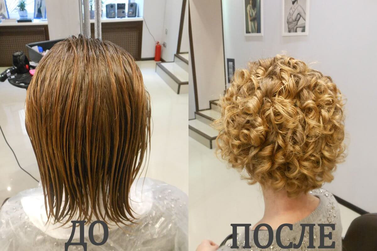 биохимия для волос на короткие волосы фото