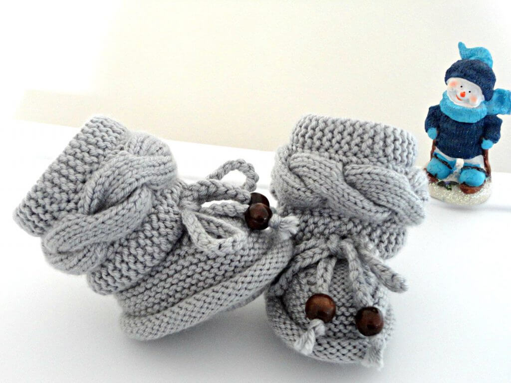 Вязание пинеток спицами схемы и описание для новорожденных ...