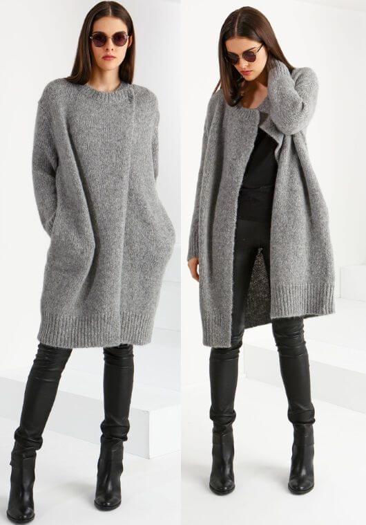 Вязание спицами для женщин модные модели 2015 года с 390
