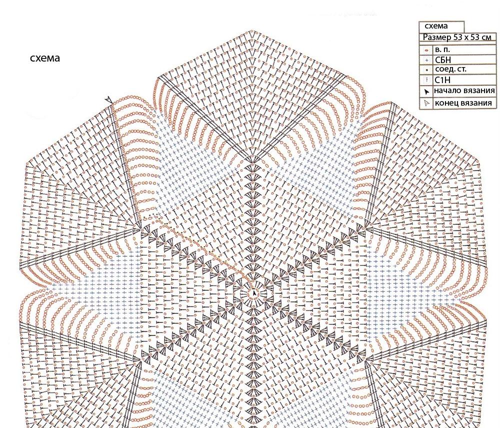 вязаные подушечки спицами со схемами