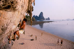 Thailand Climbing in Tonsai Beach