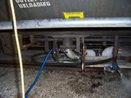 rail car tank mixng