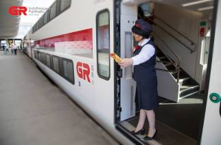 [GE] Georgia acquires four 'AeroXpress' KISS trains from Stadler Rail