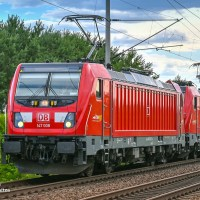 "[DE] An impressive ""Lokzug"" - DB Regio relocates TRAXXes to Berlin"